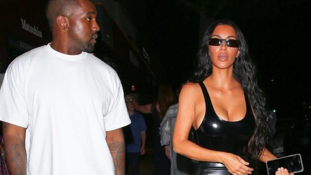 Kanye West und Kim Kardashian (Bild: www.PPS.at)