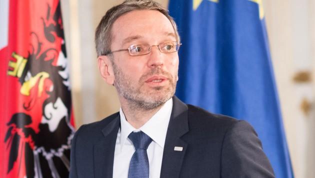 Innenminister Herbert Kickl (Bild: APA/EXPA/MICHAEL GRUBER)