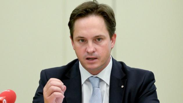 Johannes Schmuckenschlager (ÖVP) (Bild: APA/HERBERT NEUBAUER)