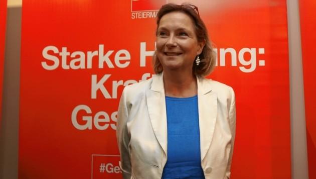 Landtagspräsidentin Bettina Vollath wird steirische SP-Spitzenkandidatin bei der EU-Wahl (Bild: Juergen Radspieler)