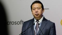 Der ehemalige Interpol-Chef Meng Hongwei (Bild: AFP/Roslan Rahman)