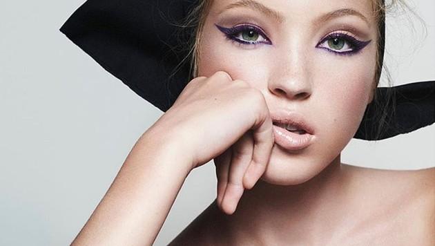 Kate Moss' Tochter Lila ist das Gesicht von Marc Jacobs Beauty.