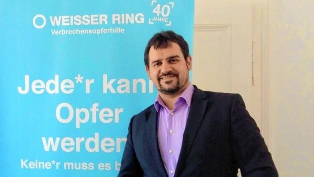"""Major Markus Tilly engagiert sich für den Opferschutz: """"Die Polizei will Täter fassen - Opfer brauchen Hilfe!"""" (Bild: Wassermann Kerstin)"""