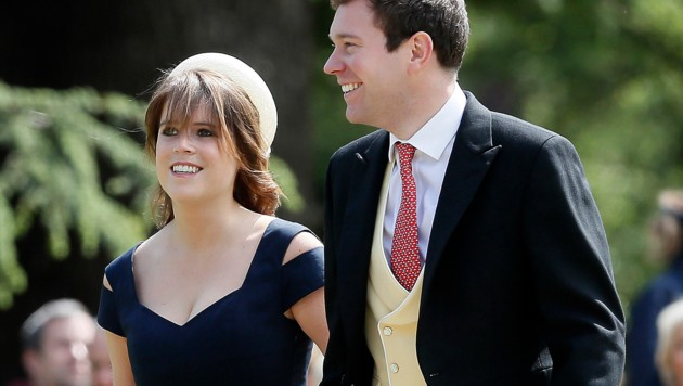 Prinzessin Eugenie und Jack Brooksbank (Bild: Copyright 2017 The Associated Press. All rights reserved.)