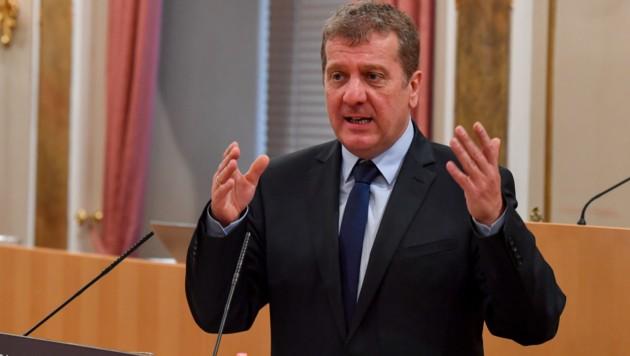 Christian Makor, Klubobmann der SPÖ im oberösterreichischen Landtag.