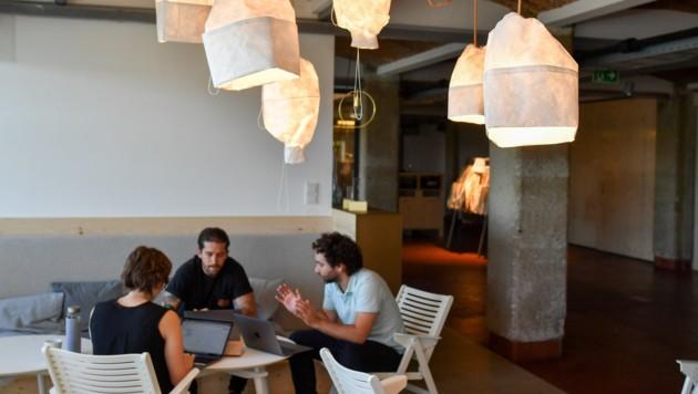 Beim Online-Marketing-Spezialisten smec sind mittlerweile bereits 97 Mitarbeiter beschäftigt. (Bild: Harald Dostal)
