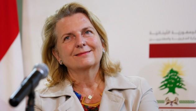 Außenministerin Karin Kneissl (FPÖ)