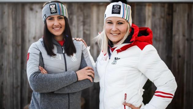 Stephanie Venier und Tamara Tippler (Bild: GEPA)