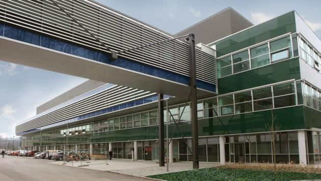 Das Krankenhaus Steyr (Bild: gespag)