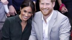 Prinz Harry und seine Meghan (Bild: www.PPS.at)