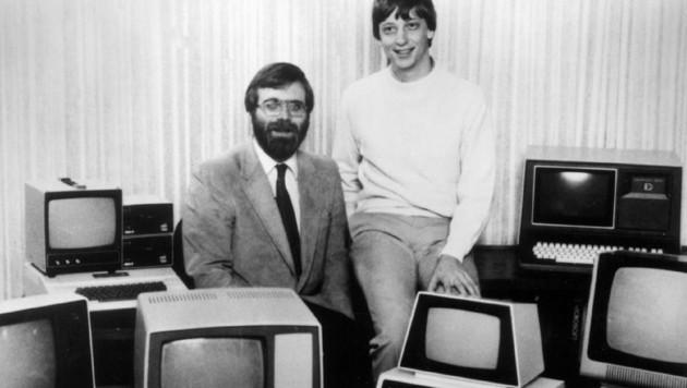 Paul Allen und Bill Gates im Jahr 1981
