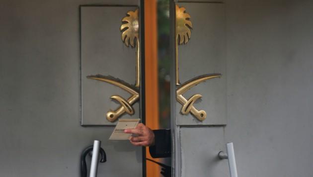 Das saudische Konsulat in Istanbul (Bild: AP)