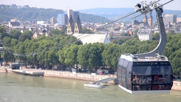 In Koblenz fährt seit 2010 eine Seilbahn, nun gibt es auch konkrete Gondel-Pläne in Linz.
