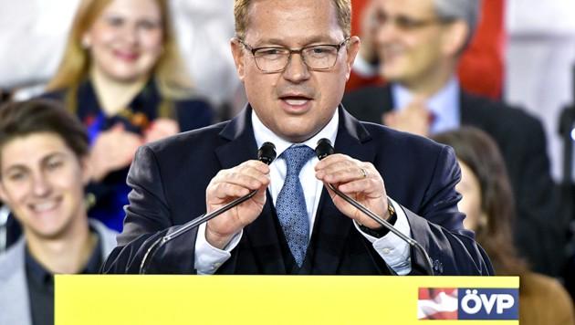 Werner Amon war von September 2016 bis Mai 2017 Generalsekretär der ÖVP. (Bild: APA/Herbert Neubauer)