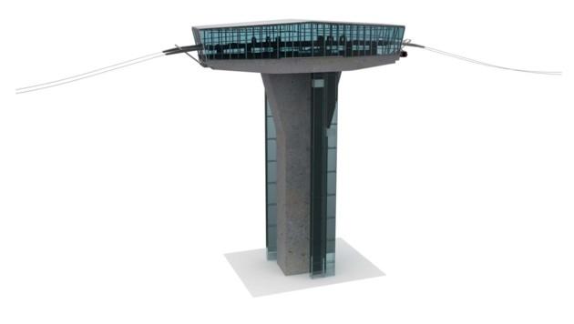 Sieben der neun Haltestellen der Stadtseilbahn erreichen 100 Meter. (Bild: Baucon)