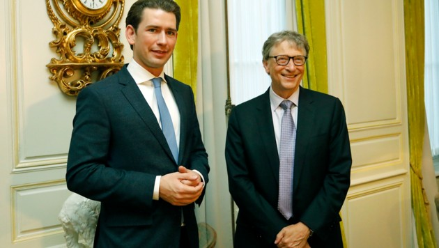 "Kurz traf Bill Gates: ""Extrem inspirierend"""