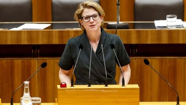 NEOS-Chefin Beate Meinl-Reisinger war bereits von 2013 bis 2015 Nationalratsabgeordnete.