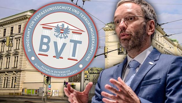 Kickl will BVT-Spionagechef feuern