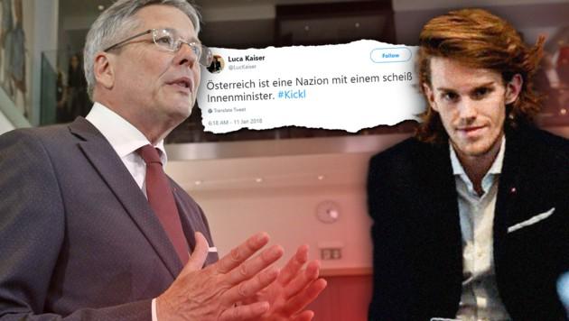 """""""Nazion"""": FPÖ fordert Rücktritt von Luca Kaiser"""