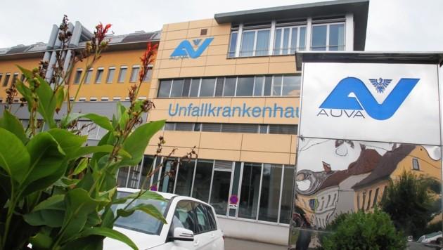 Der Biker wurde in das AUKH in Klagenfurt eingeliefert. (Bild: Uta Rojsek-Wiedergut)
