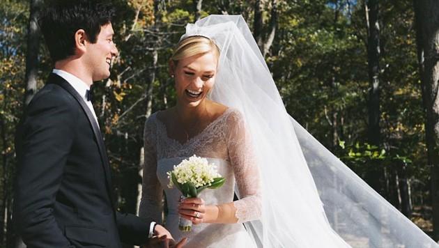 Karlie Kloss heiratete Ivanka Trumps Schwager Joshua Kushner. (Bild: instagram.com/karliekloss)