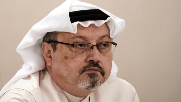 Journalist Jamal Khashoggi wurde im Oktober 2018 im saudischen Konsulat in Istanbul ermordet. Seine Leiche wurde bisher nicht gefunden. (Bild: AFP/Mohammed Al-Shaikh)