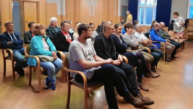 Am Freitagabend fand im Rathaus von Frohnleiten eine Bürgerversammlung statt.