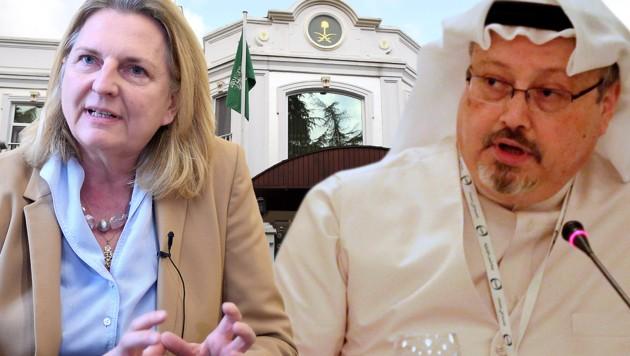 "Kneissl: Khashoggi-Mord ""nur Gipfel des Horrors"""
