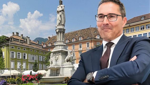 Südtirols Landeshauptmann Arno Kompatscher (Bild: APA/EXPA/Johann Groder, Wikipedia, krone.at-Grafik)