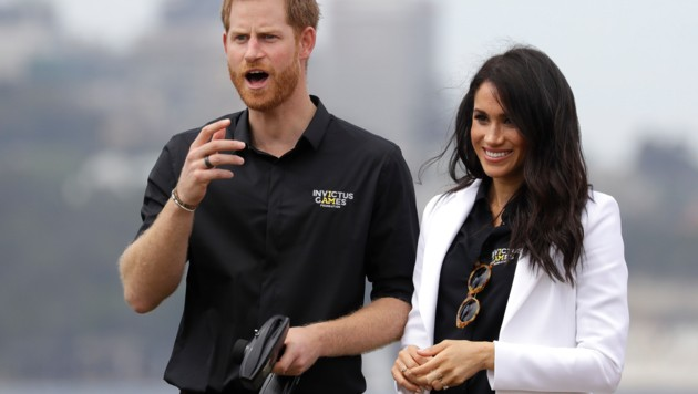 Harry und Meghan (Bild: Copyright 2018 The Associated Press. All rights reserved)