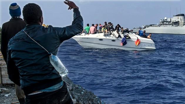 Migranten aus Afrika: Europa-Garantie für 2000 €!