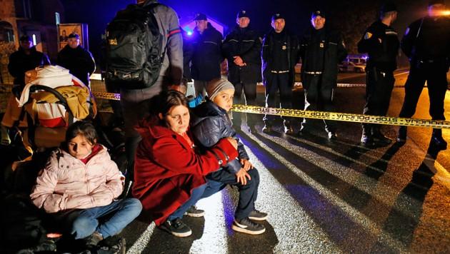 Flüchtlingssituation in Bosnien spitzt sich zu