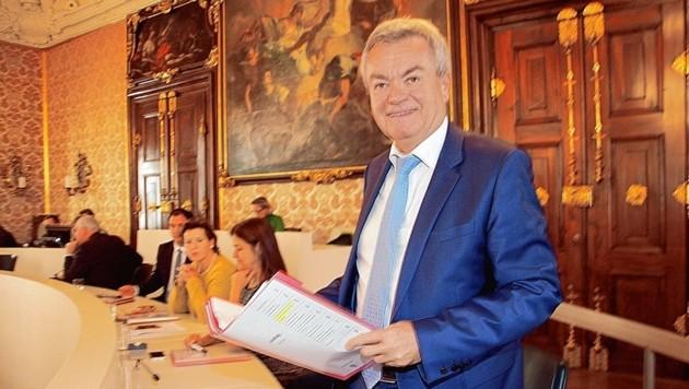 Finanzlandesrat Anton Lang (Bild: Christian Jauschowetz)
