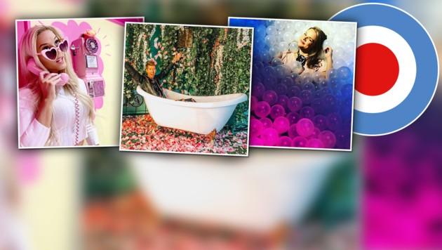 (Bild: instagram.com/rosewinemansion, instagram.com/johnnygolden__, instagram.com/courtneyjschultz)