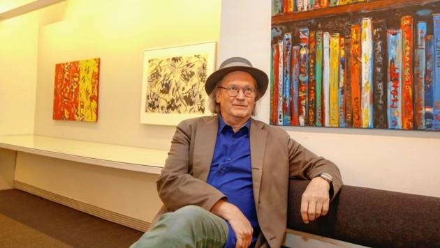 Roman Scheidl stellt in der Galerie Welz aus (Bild: Markus Tschepp)