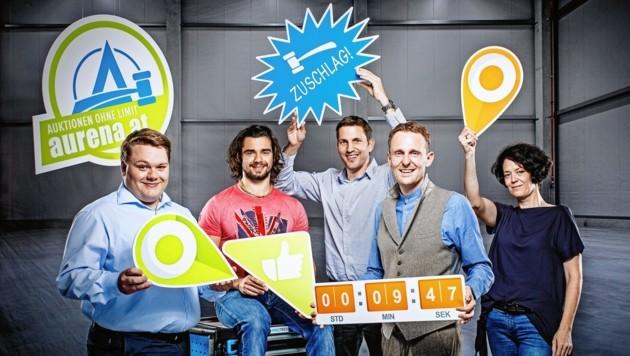 Das steirische Entwicklerteam rund um Karl Kühberger und Jürgen Blematl will dem Anbieter eBay Konkurrenz machen. (Bild: JBlematl)