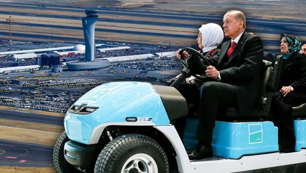 Erdogan weiht neuen Istanbuler Mega-Flughafen ein