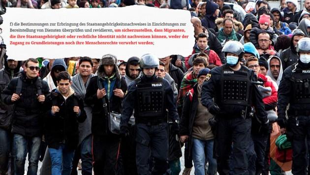 (Bild: un.org, AFP, krone.at-Grafik)