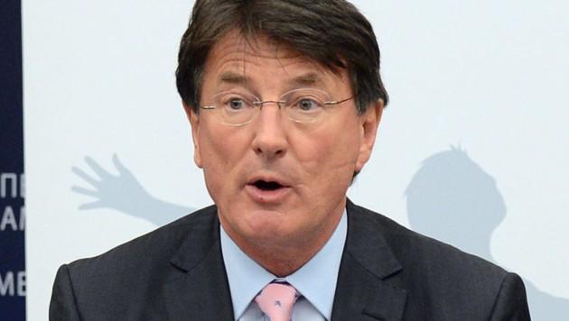 Der FPÖ-EU-Abgeordnete Franz Obermayr (Bild: AFP)