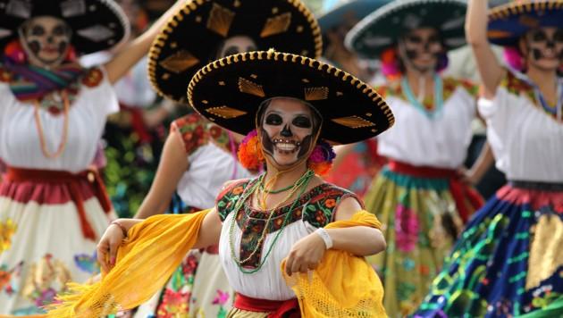 In Mexiko feiert man seit Tagen die Toten.