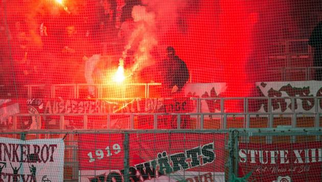 Die Fans von Vorwärts Steyr dürfen sich auf ein Gastspiel von Wacker Innsbruck freuen! (Bild: SPORTMEDIAPICS.COM / MANFRED BINDER)