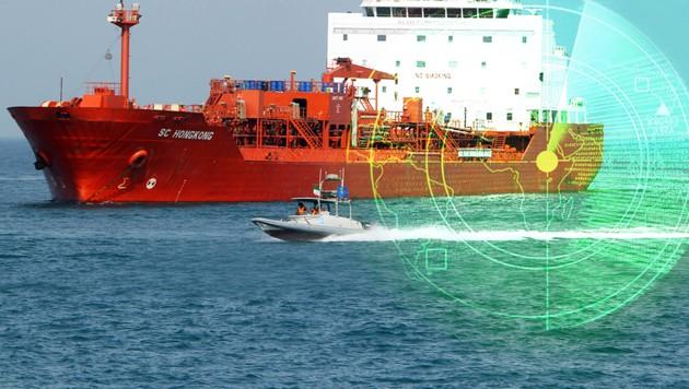 Iran lässt seine Öltanker vom Radar verschwinden