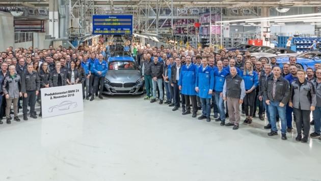Am Freitag erfolgte der Produktionsstart bei Magna in Graz