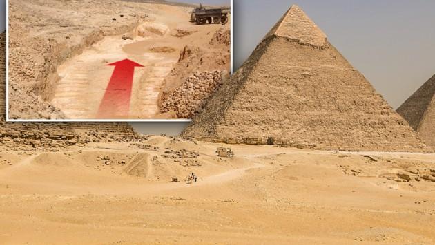 Bau Der Pyramiden