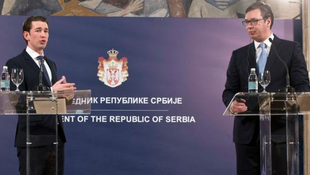 """Kurz in Serbien: """"Vergangenheit ruhen lassen!"""""""
