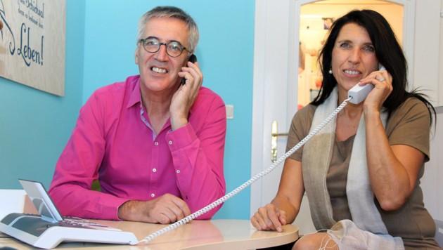 Gerhard Darmann und Gudrun Köck