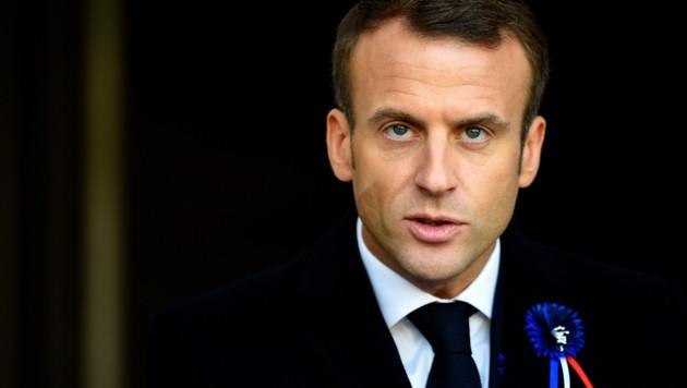 Emmanuel Macron (Bild: AFP )