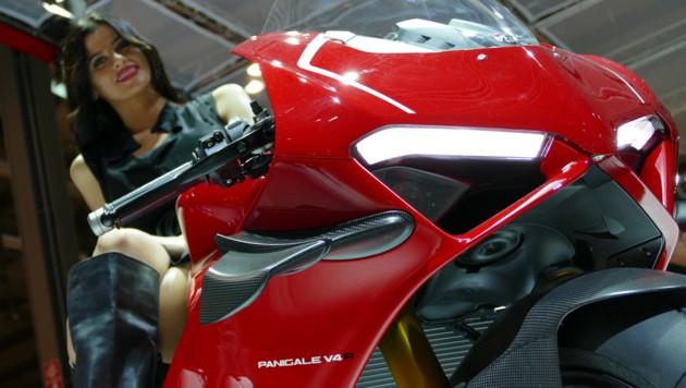 Ducati V4 R (Bild: Stephan Schätzl)