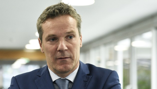 Arbeitgeber-Chefverhandler Christian Knill