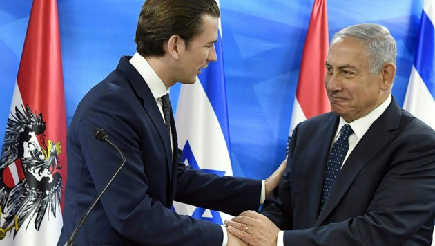 Israels Premier Netanyahu besucht Wien